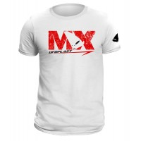 T-shirt white made by 100% cotton - MG04461