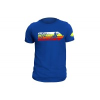 T-shirt blue made by 100% cotton - MG04460