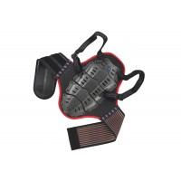 Back support with body belt (height under mt 1,55) - SK09096