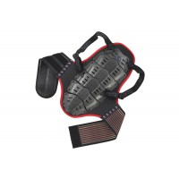 Back support with body belt (height under mt 1,65) - SK09097