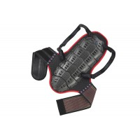 Back support with body belt (height under mt 1,75) - SK09098