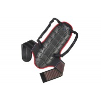 Back support with body belt (height over mt 1,75) - SK09099